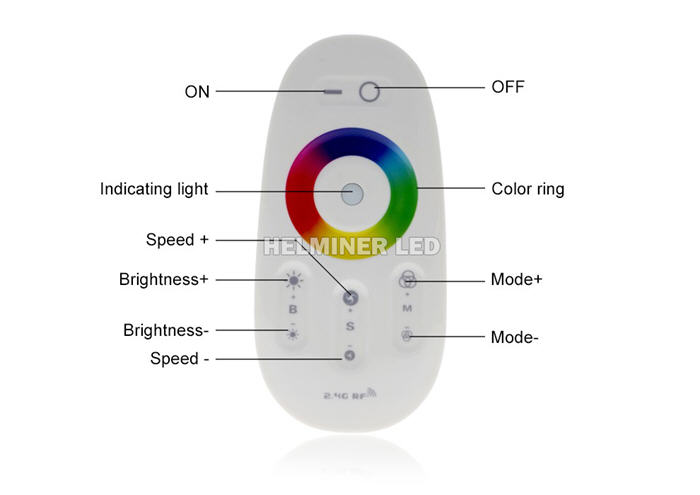 Color Changing RGB LED Controllers