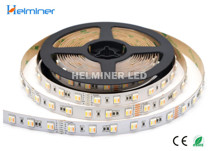 5 colors in 1 LED, RGB+CCT LED Strips, RGB+Double white LED Strips